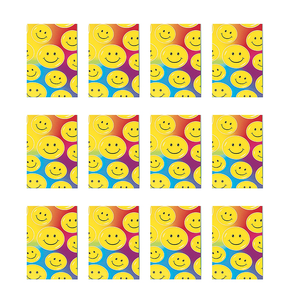 Smile Notepads 12ct Image #1
