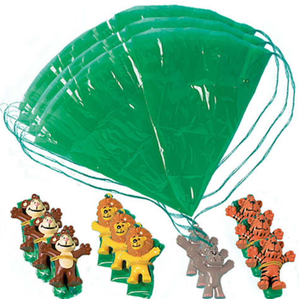 Zoo Animal Paratroopers 12ct Image #1