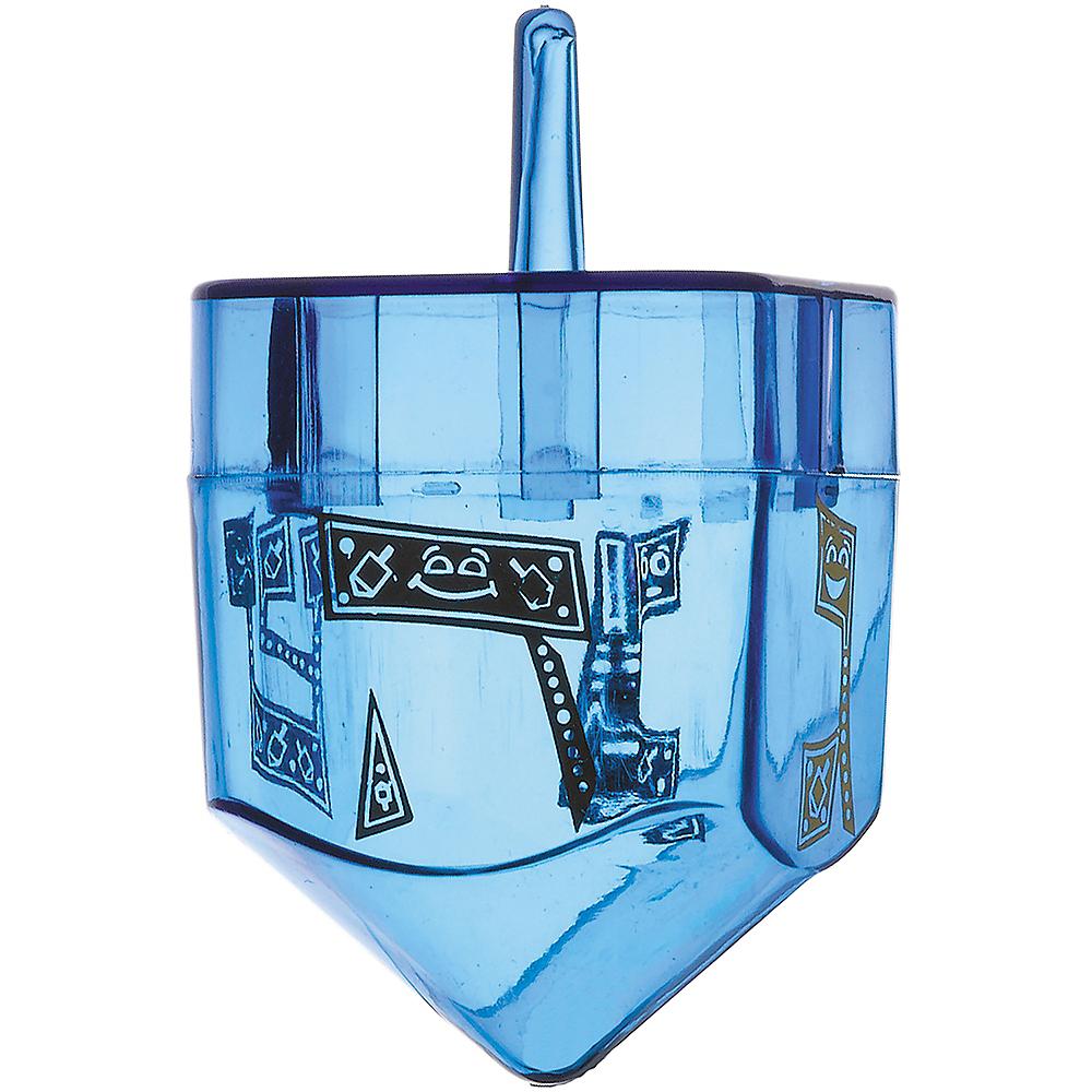 Fillable Plastic Dreidel Image #1