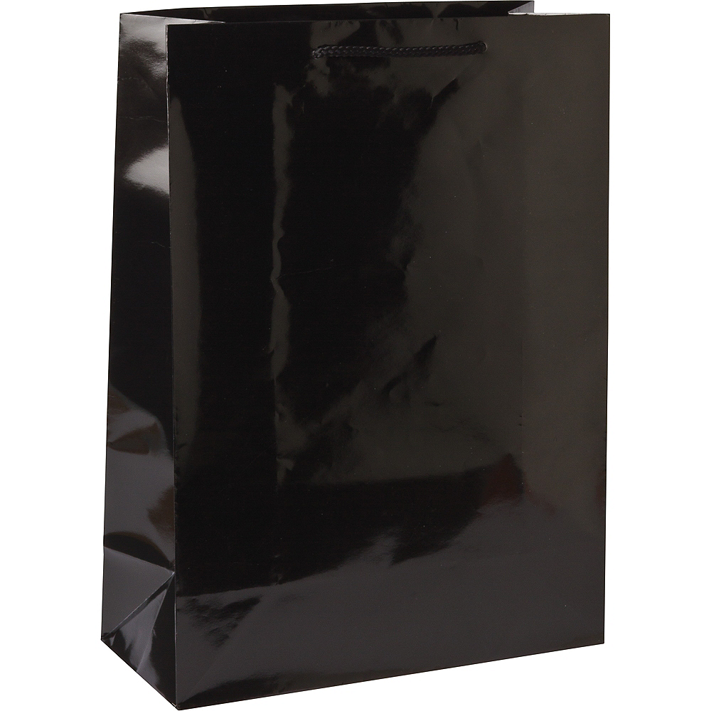 Large Black Gift Bag Image #1