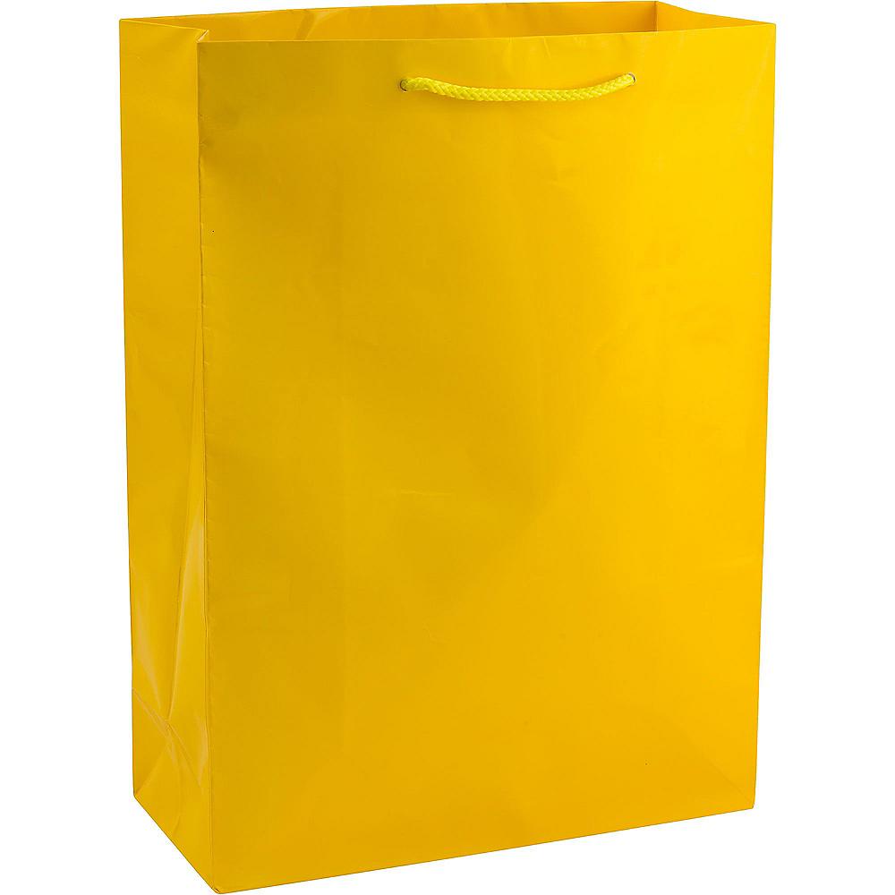 Large Yellow Gift Bag Image #1