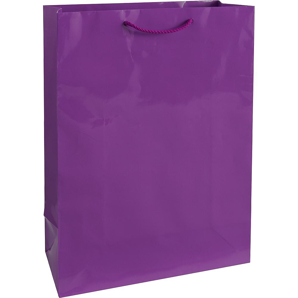 Large Purple Gift Bag Image #1