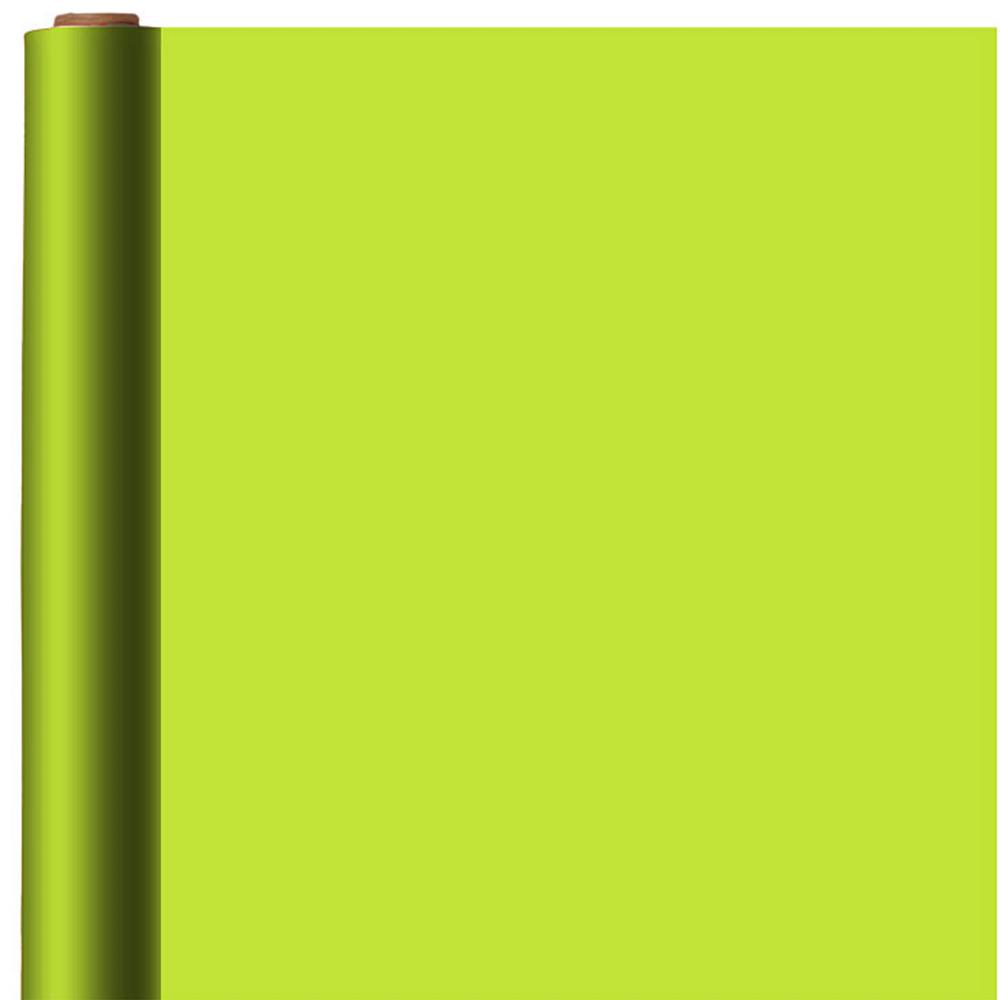 Jumbo Solid Kiwi Gift Wrap Image #1