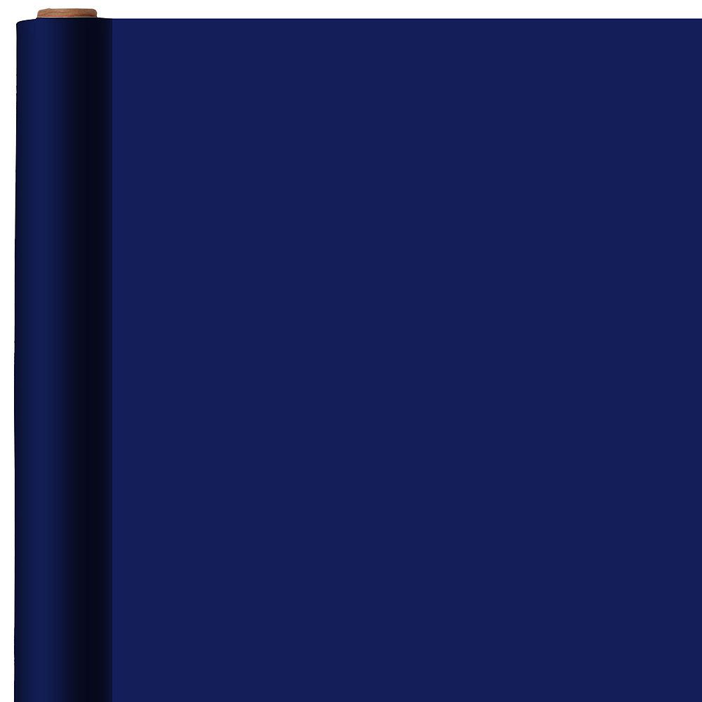 jumbo solid royal blue gift wrap 16ft party city