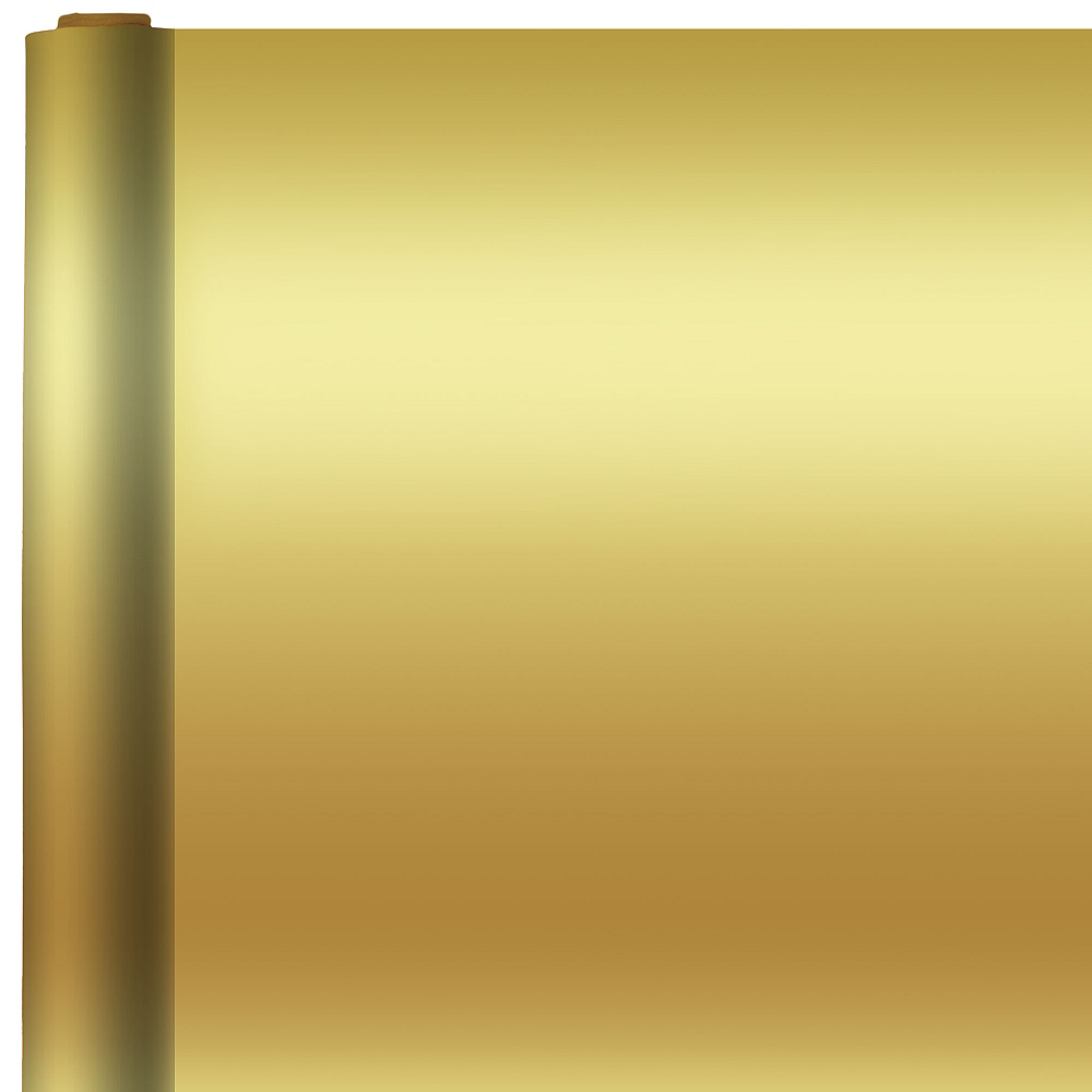 Nav Item for Jumbo Solid Gold Gift Wrap Image #1