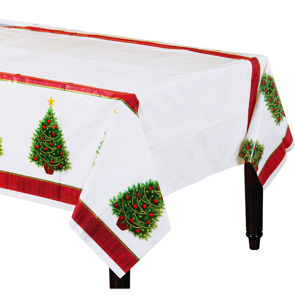 Twinkling Tree Table Covers 3ct Image #1
