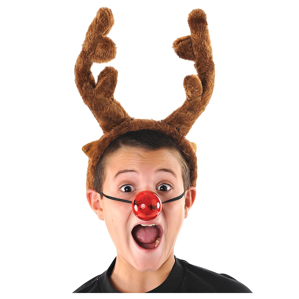Light-Up Reindeer Nose Image #1