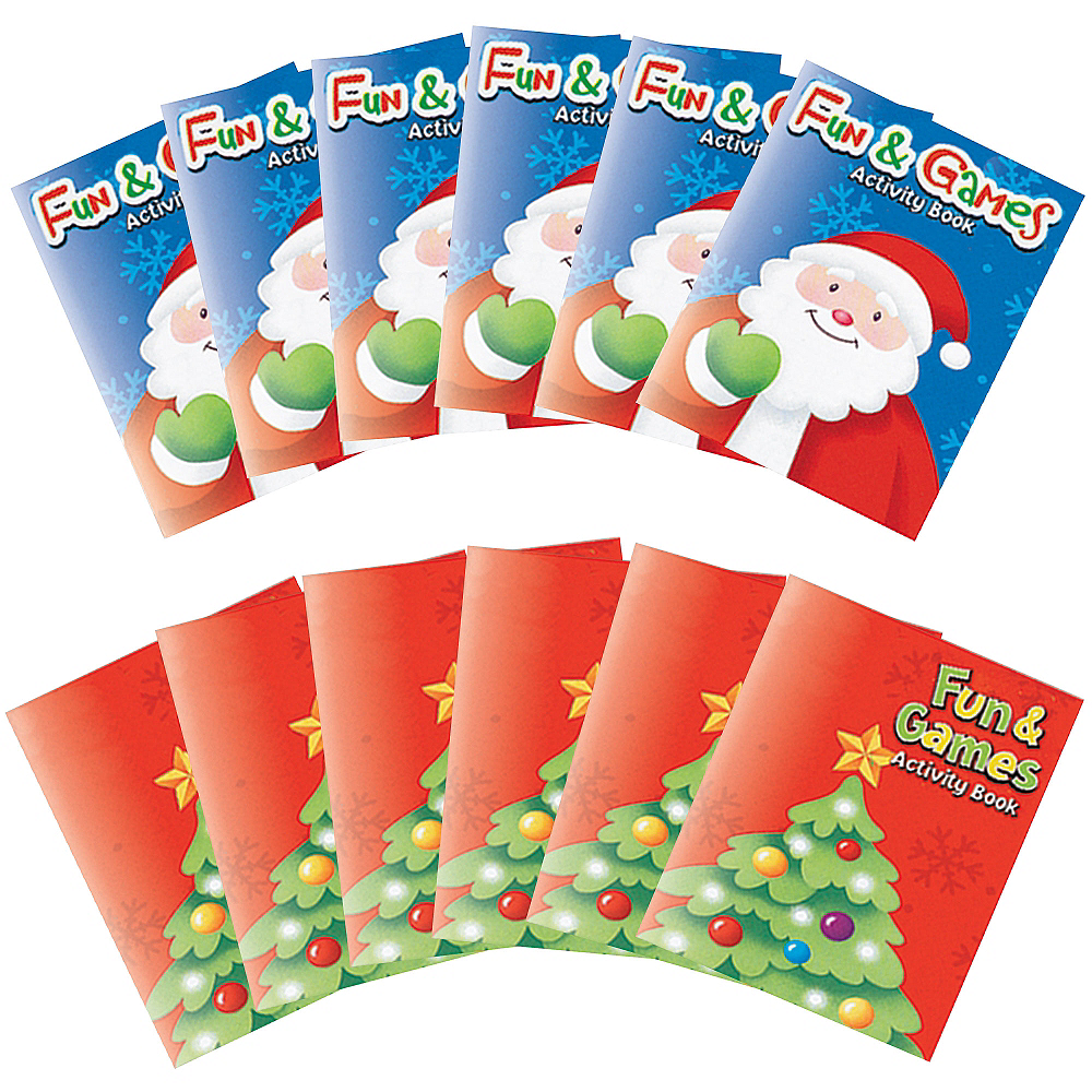 Christmas Activity Pads 8ct Image #1