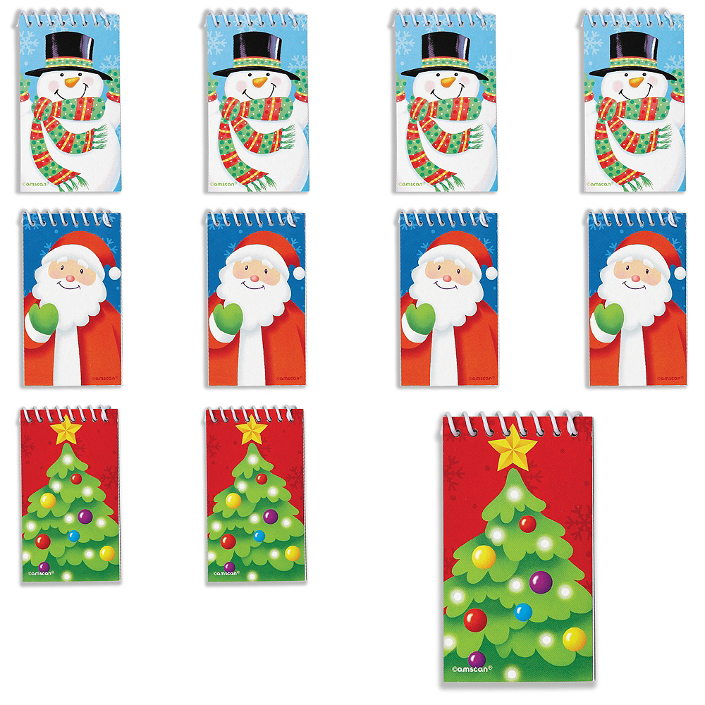Christmas Notepads 30ct Image #1