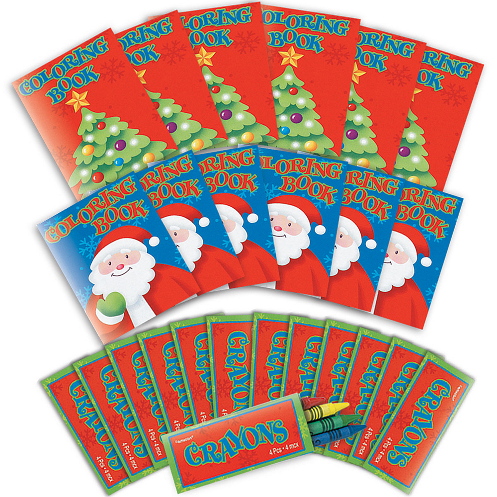 Christmas Coloring Activity Kit 12ct Image #1