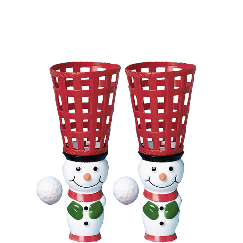 Snowman Pop & Catch Game 2ct Image #1