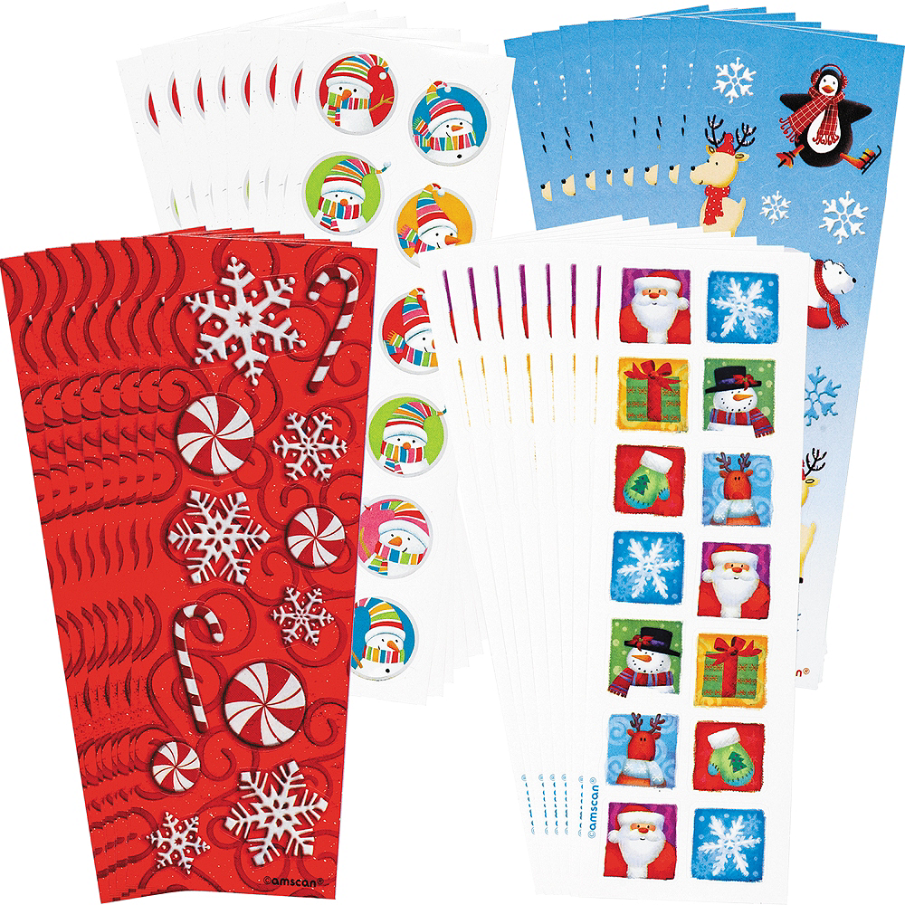 Christmas Stickers 36 Sheets Image #1