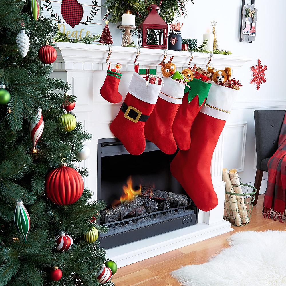 Western Christmas Stockings Personalized.Felt Christmas Stocking