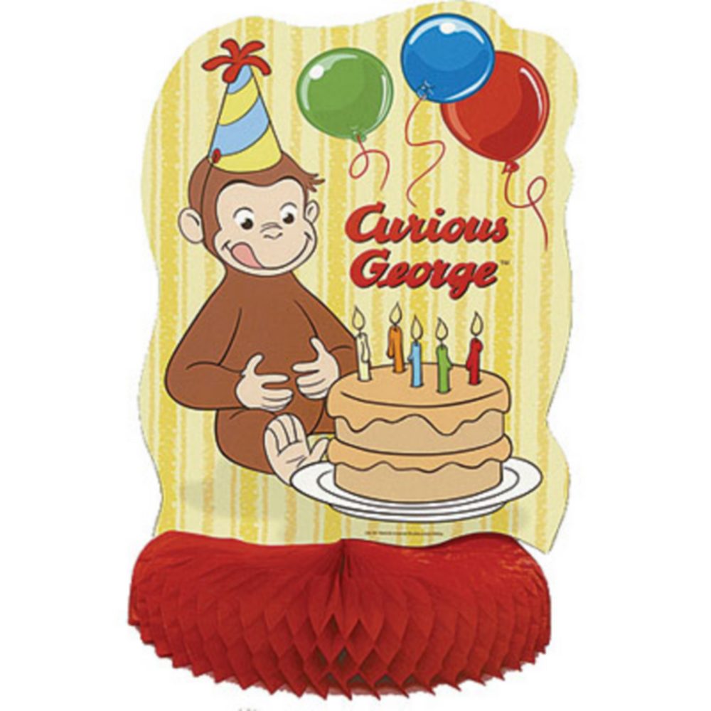 Curious George Centerpiece 14in Image #1