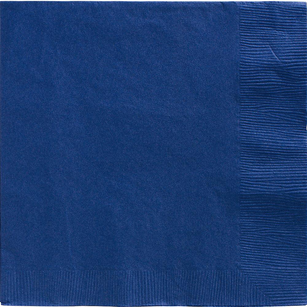 Royal Blue Dinner Napkins 20ct Image #1
