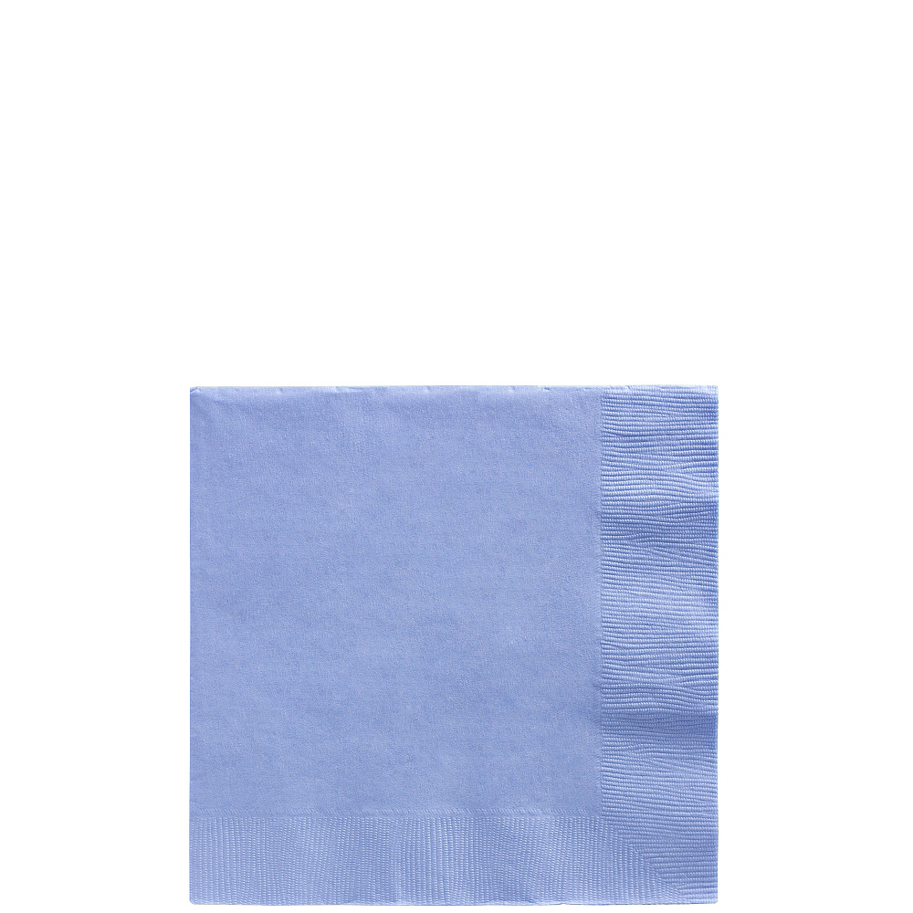 Pastel Blue Beverage Napkins 50ct Image #1