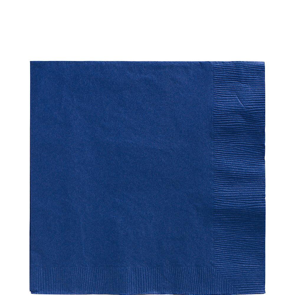 Royal Blue Lunch Napkins 50ct Image #1