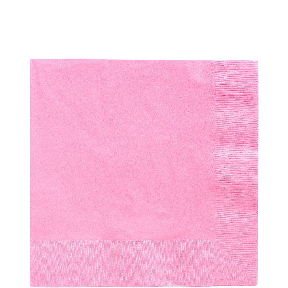 Pink Lunch Napkins 50ct Image #1