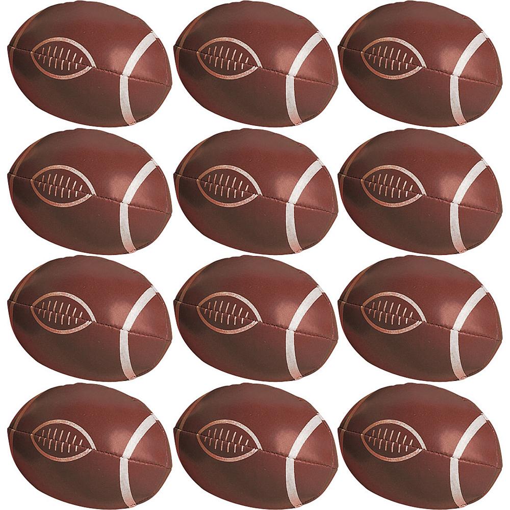 Soft Mini Footballs 12ct Image #1