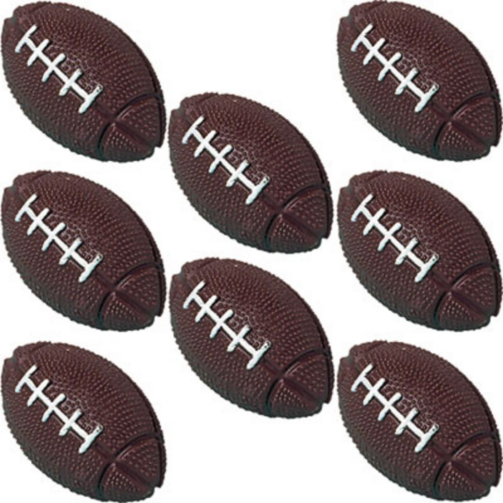 Football Bounce Balls 8ct Image #1