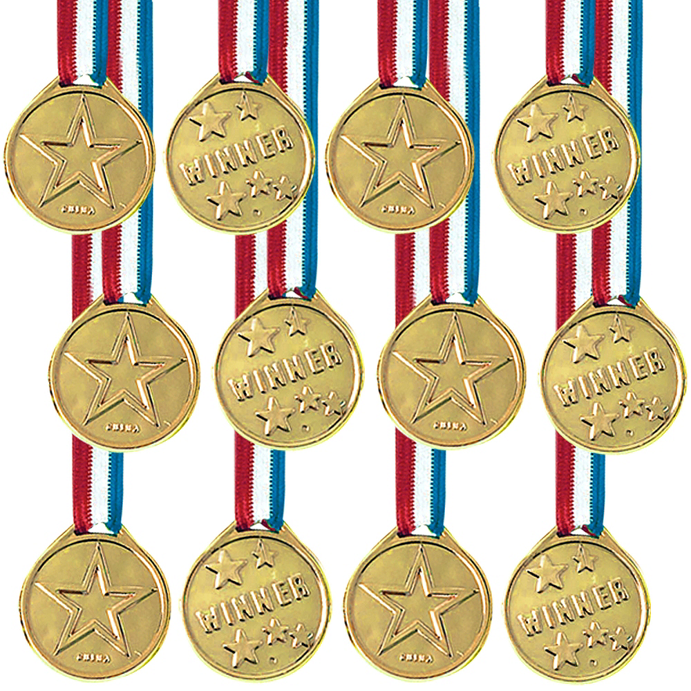 Award Medals 12ct Image #1