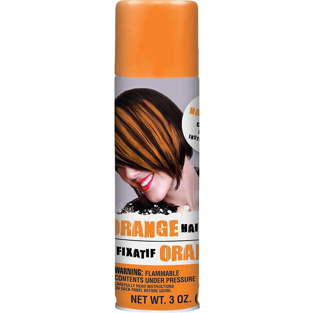 Orange Hair Spray 3oz Party City