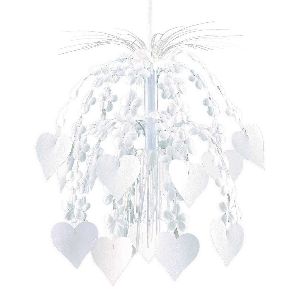 Flower & Hearts Cascade Chandelier Image #1