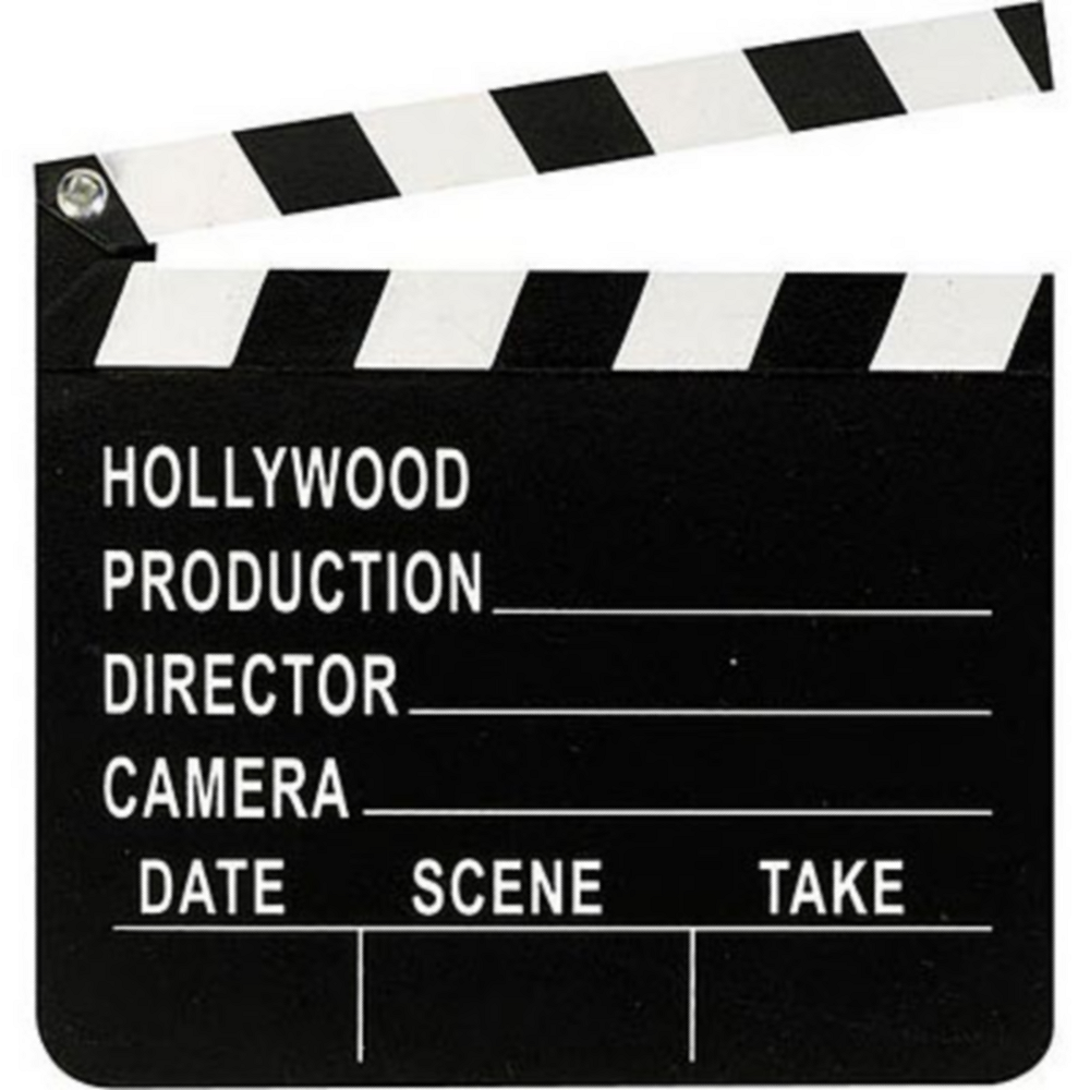 Hollywood Movie Clapboard Image #1