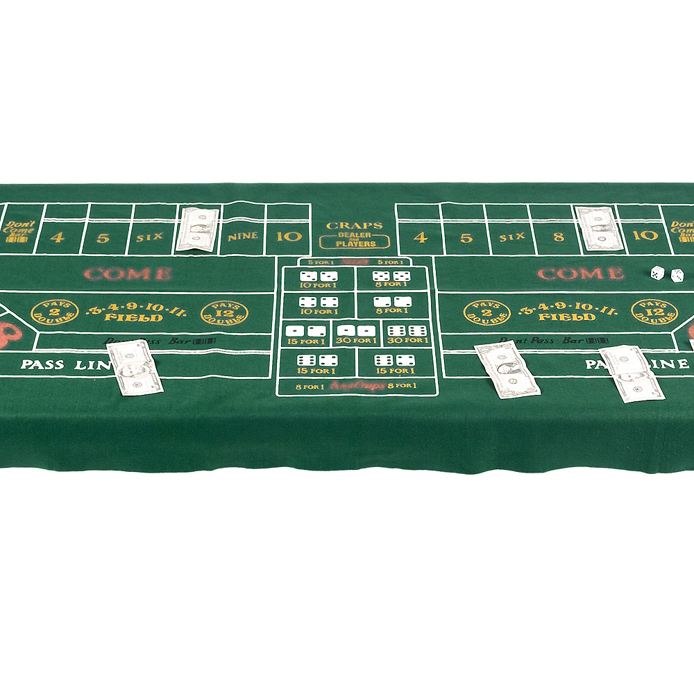 Craps Table Cover Image #1