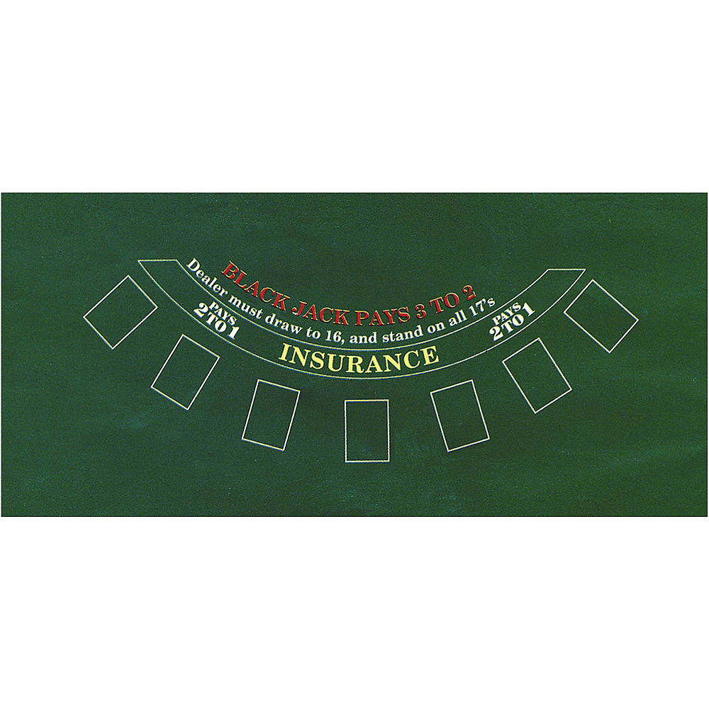 Blackjack Table Cover Image #2
