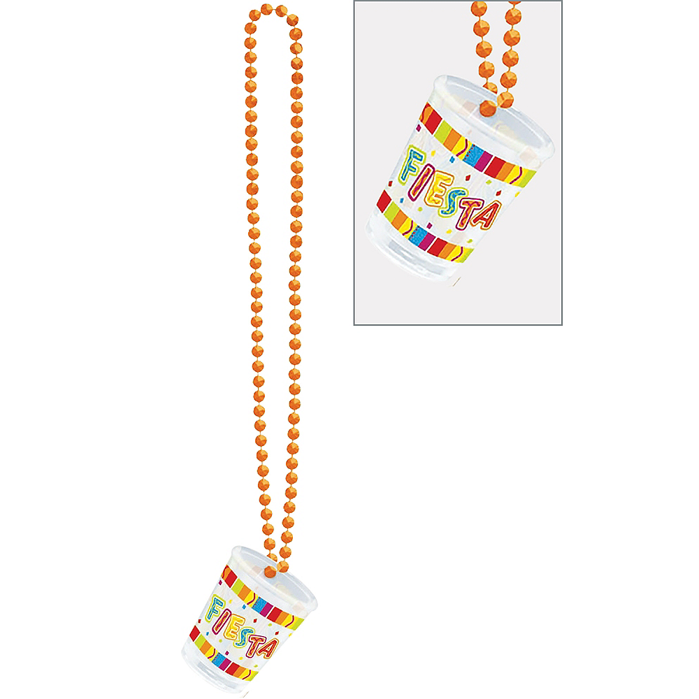 Bright Fiesta Shot Glass Necklace Image #1