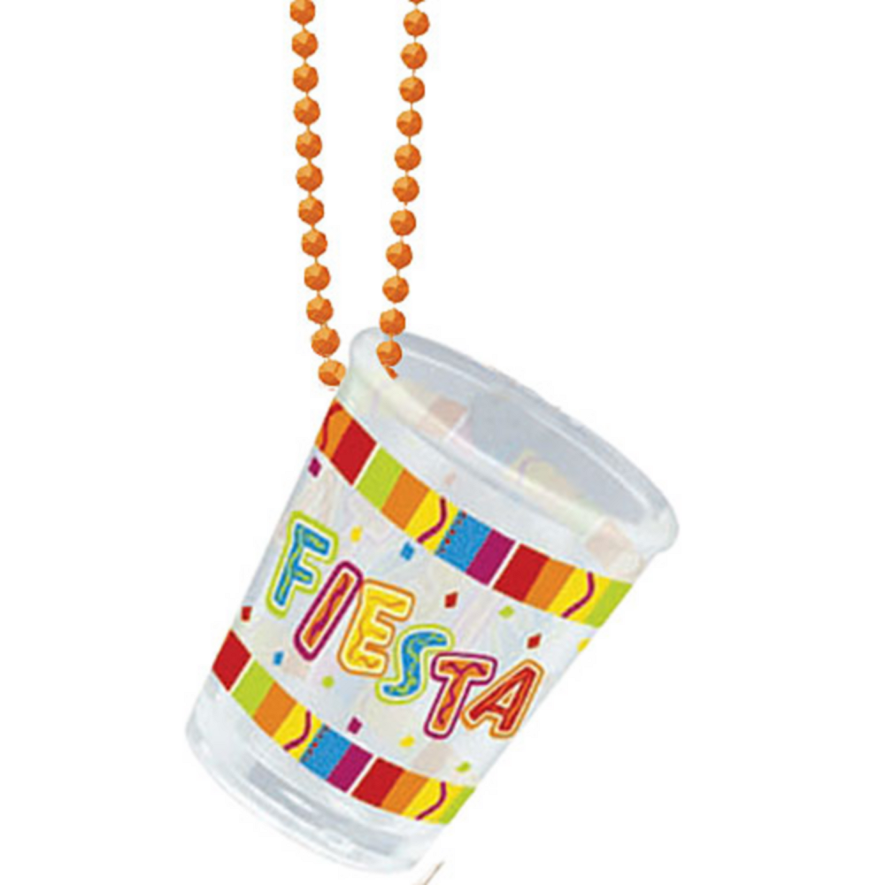 Bright Fiesta Shot Glass Necklace Image #2