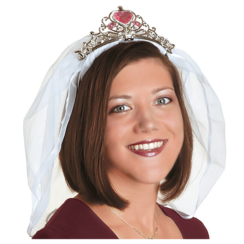 Tiara with Veil Image #1