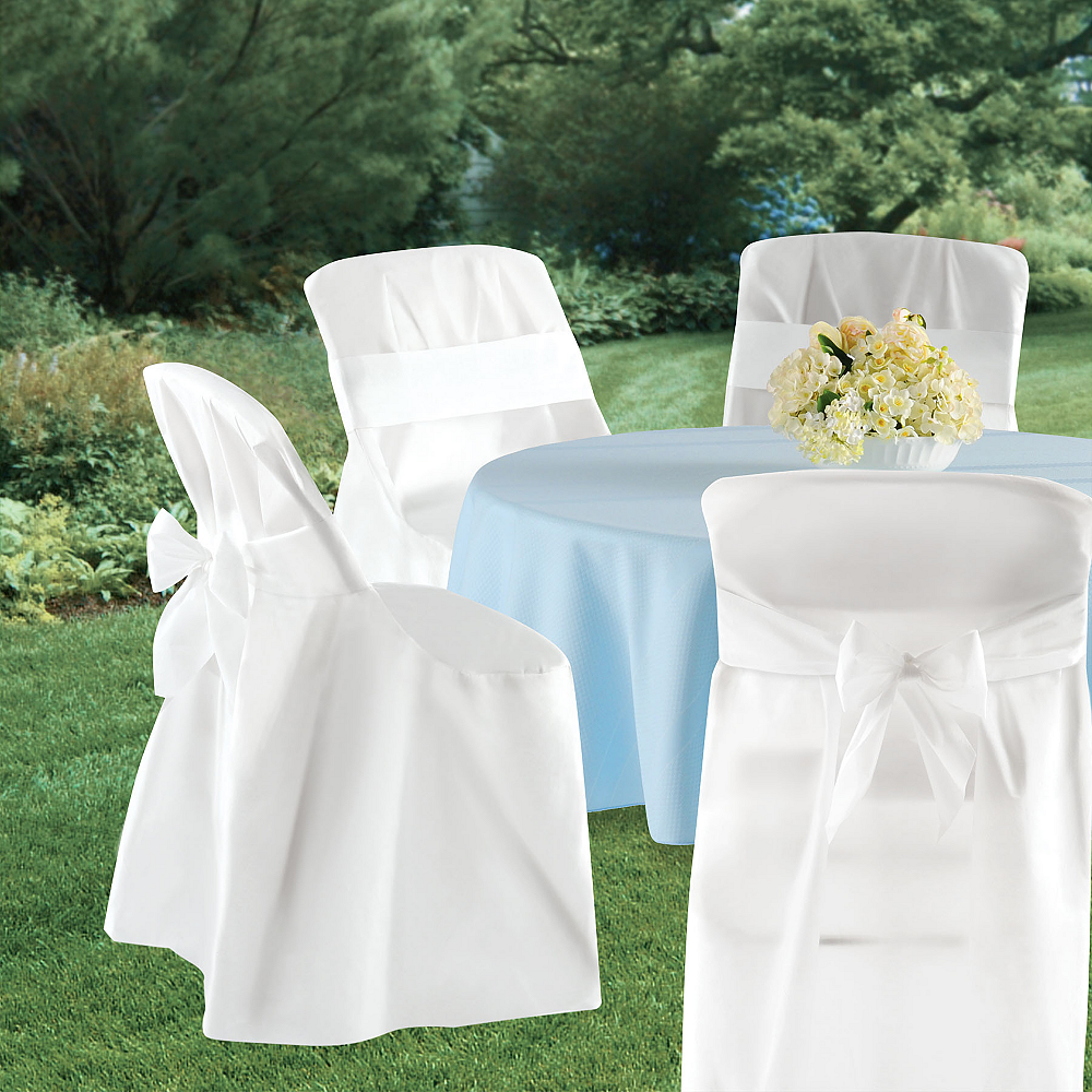 Amazing Folding Chair Covers 4Ct Gmtry Best Dining Table And Chair Ideas Images Gmtryco
