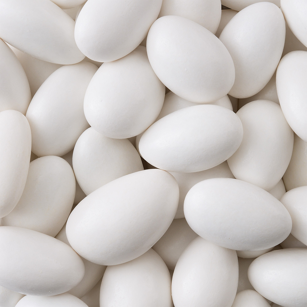 White Jordan Almonds Image #2