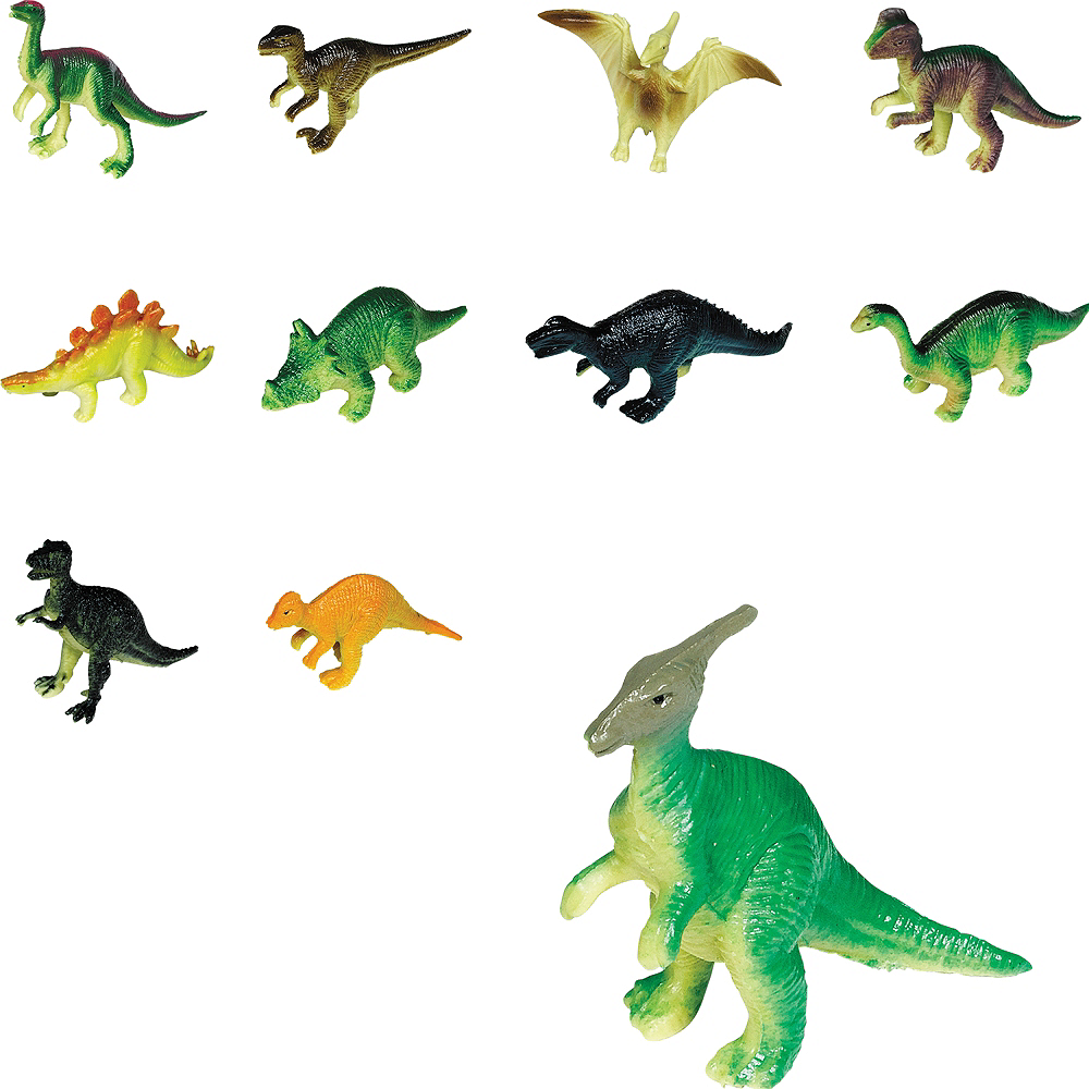 Toy Prehistoric Dinosaurs 36ct Image #1