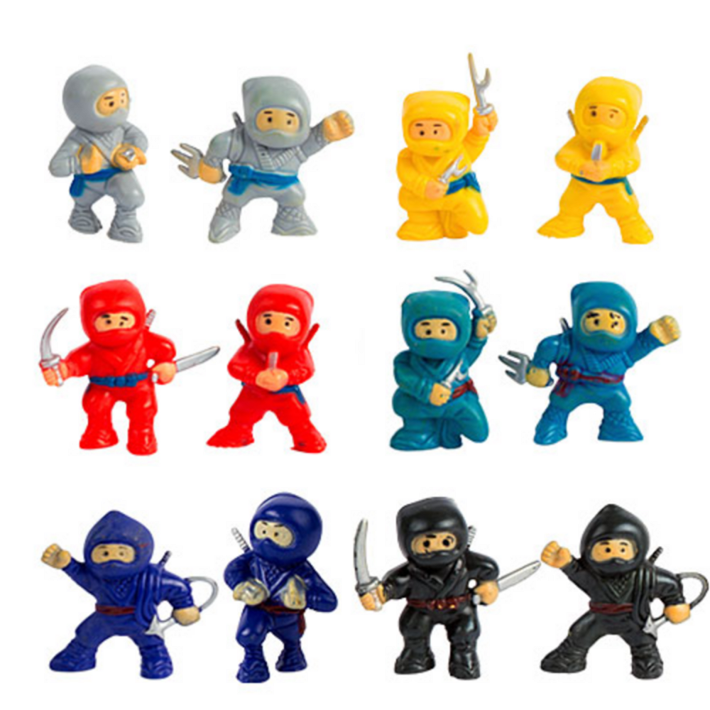 Toy Ninjas 12ct Image #1