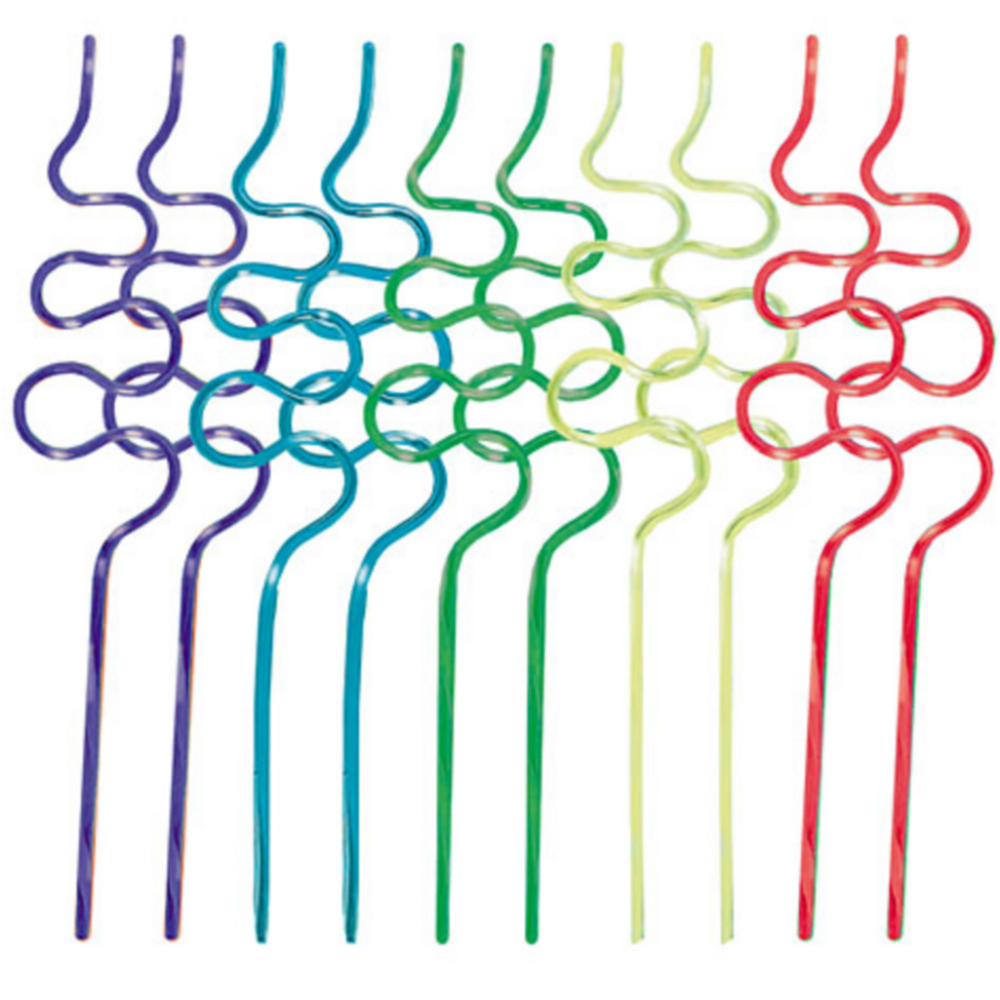 Silly Straws 10ct Image #1