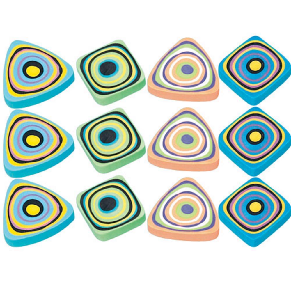 Swirl Erasers 12ct Image #1