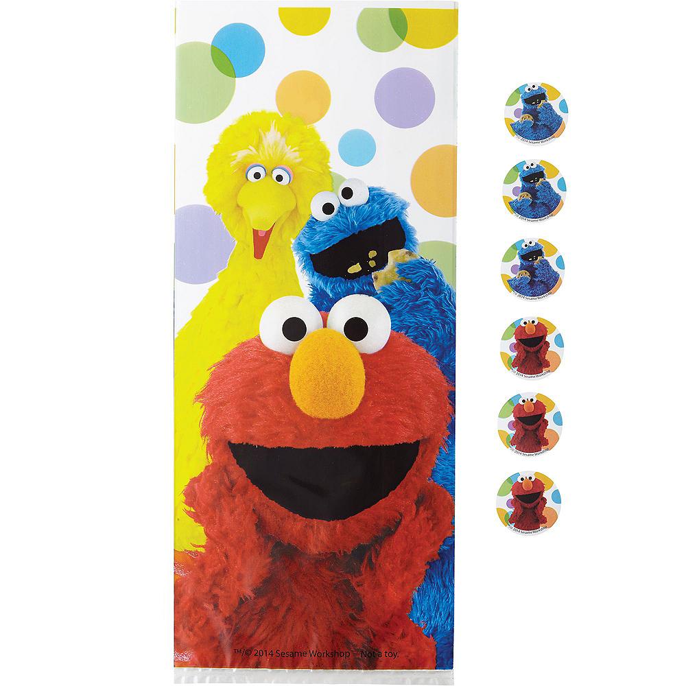 Wilton Sesame Street Treat Bags 16ct Image #1