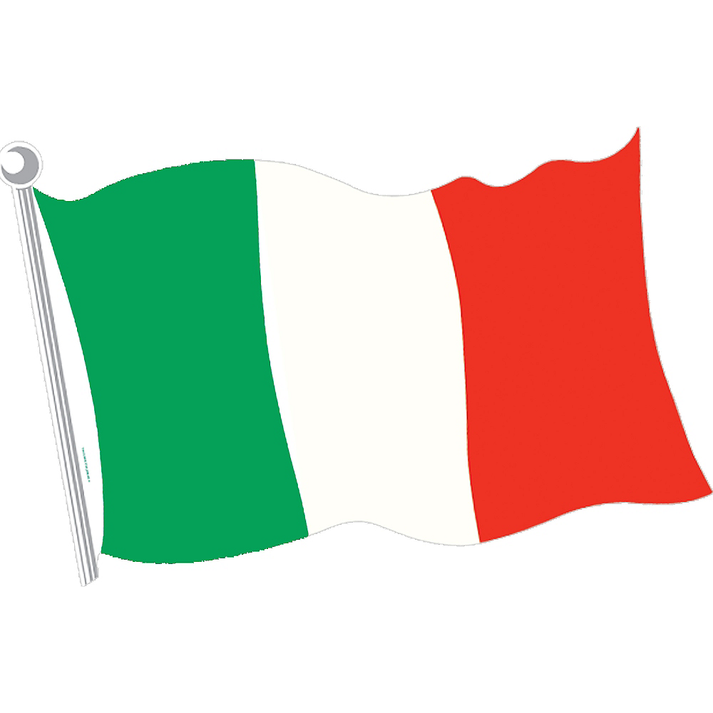 Nav Item for Italian Flag Cutout Image #1