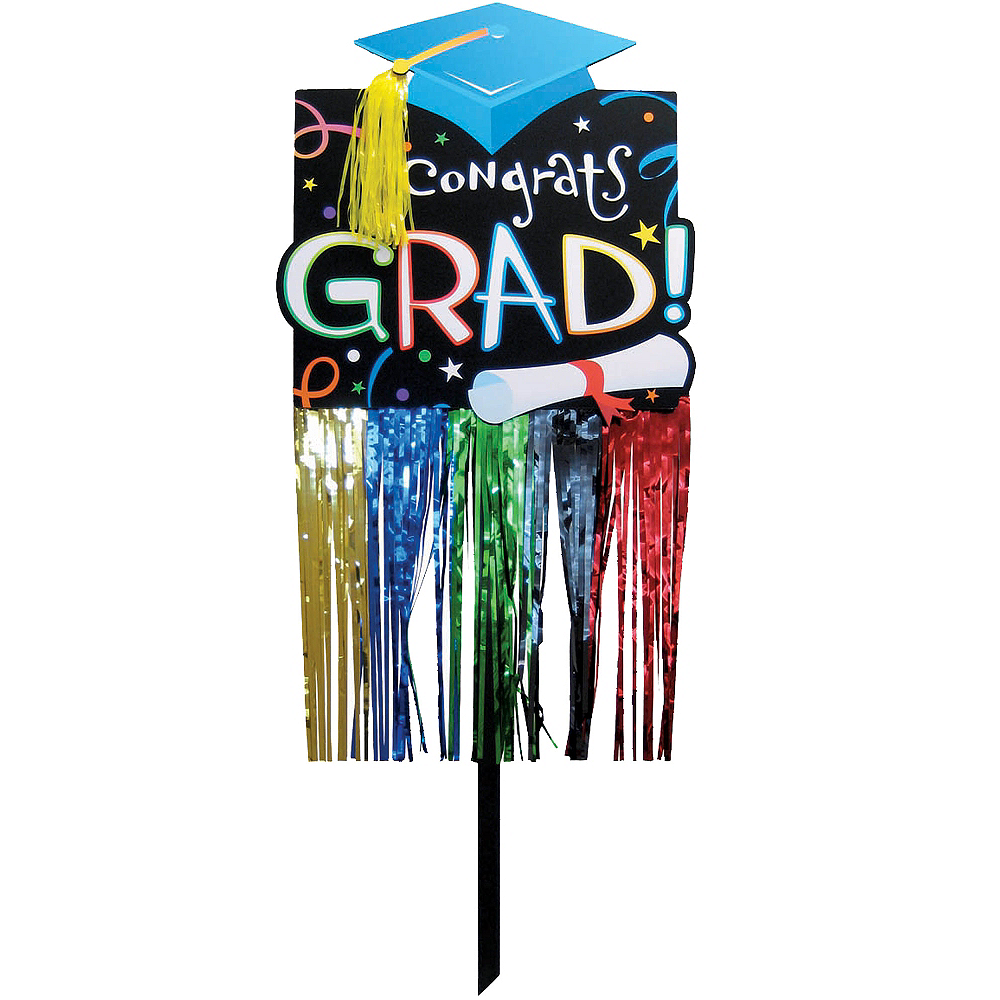 Embellished Graduation Yard Sign Image #1