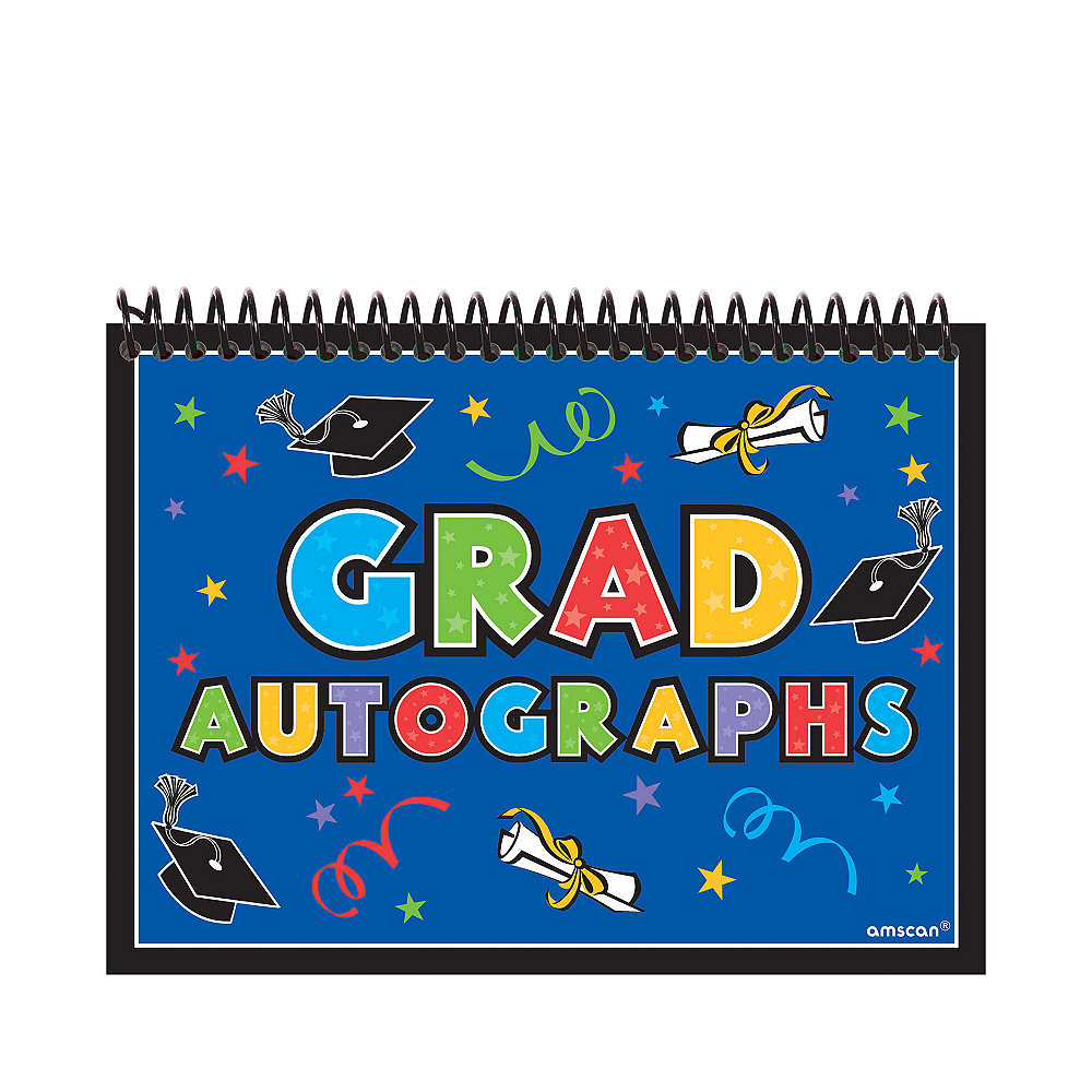 graduation autograph book 4 1 6in x 6 1 4in party city canada