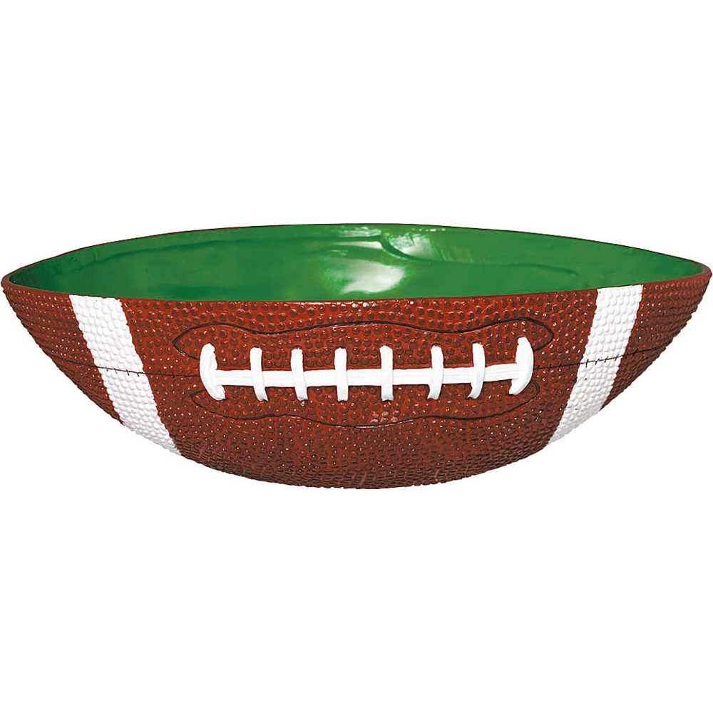 Large Football Bowl 11in Image #1