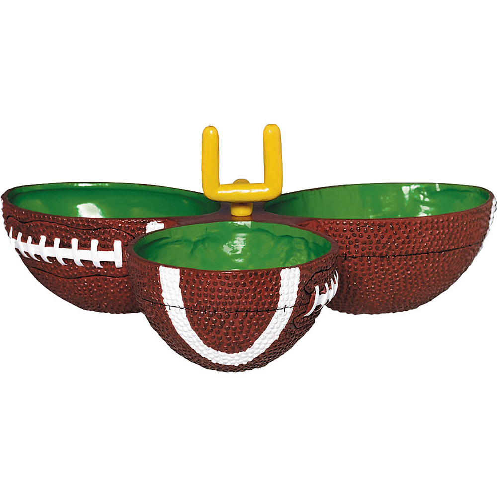 Football Condiment Dish 10in Image #1