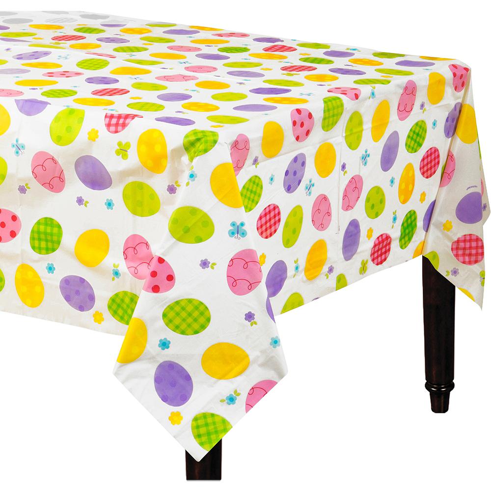 Eggstravaganza Plastic Table Cover Image #1