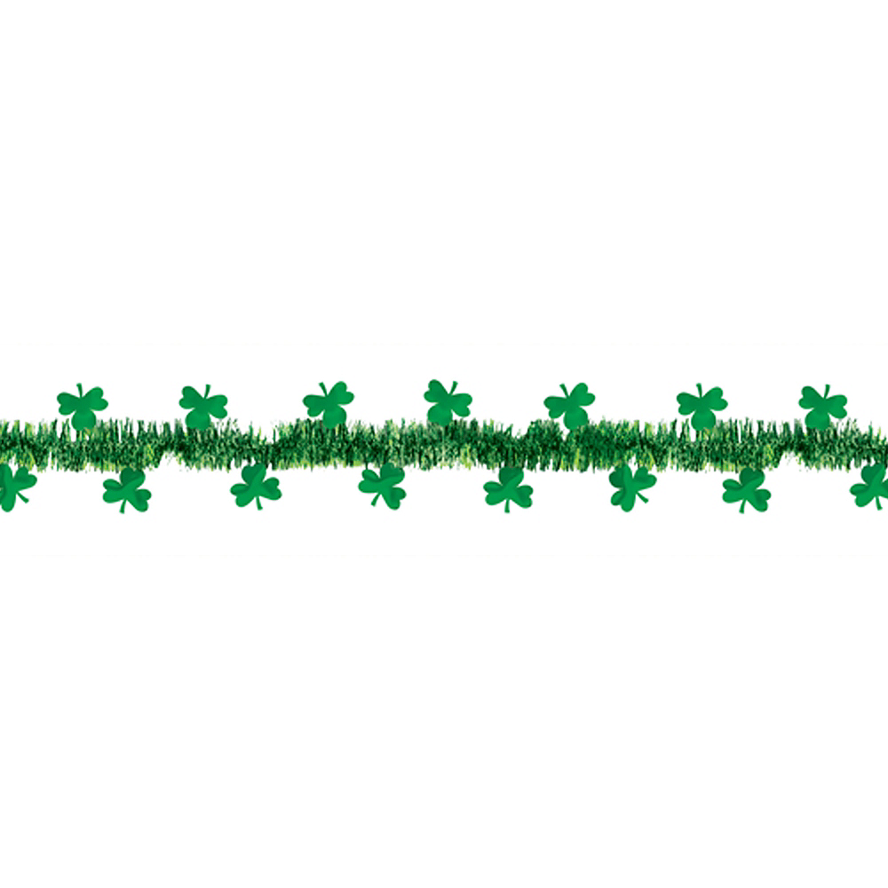 Nav Item for Shamrock Tinsel Garland Image #1