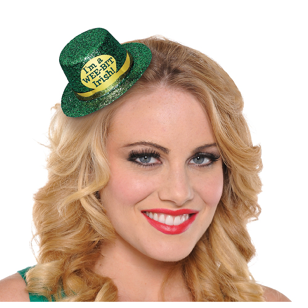 Nav Item for Wee Bit Irish Mini Top Hat Image #1