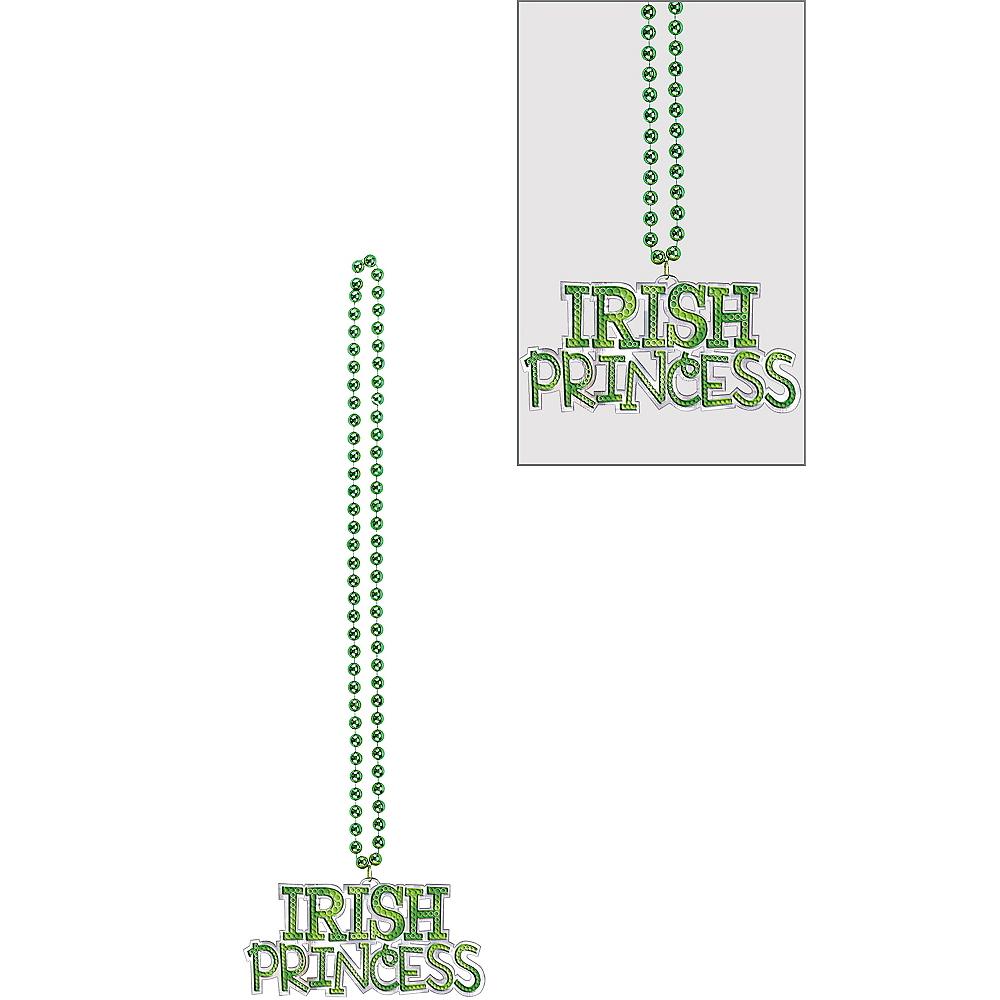 Irish Princess Pendant Bead Necklace Image #1