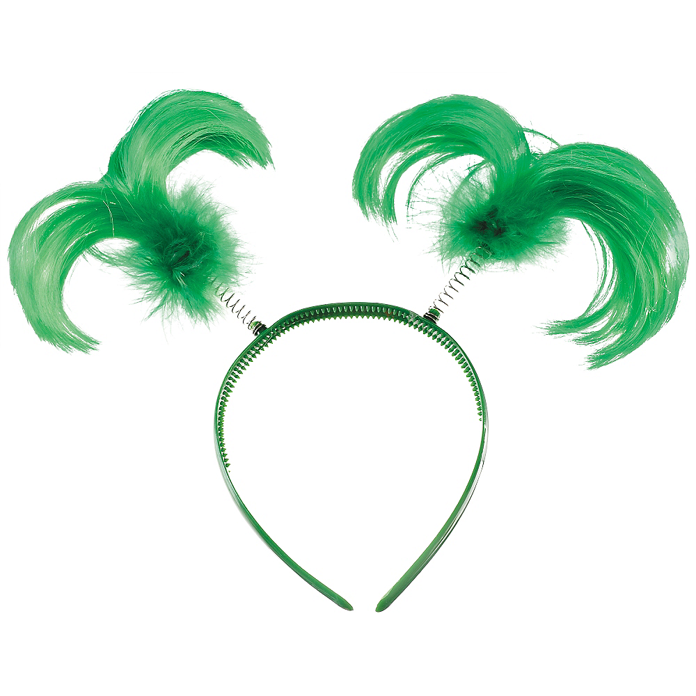 Green Feather Head Bopper Image #1
